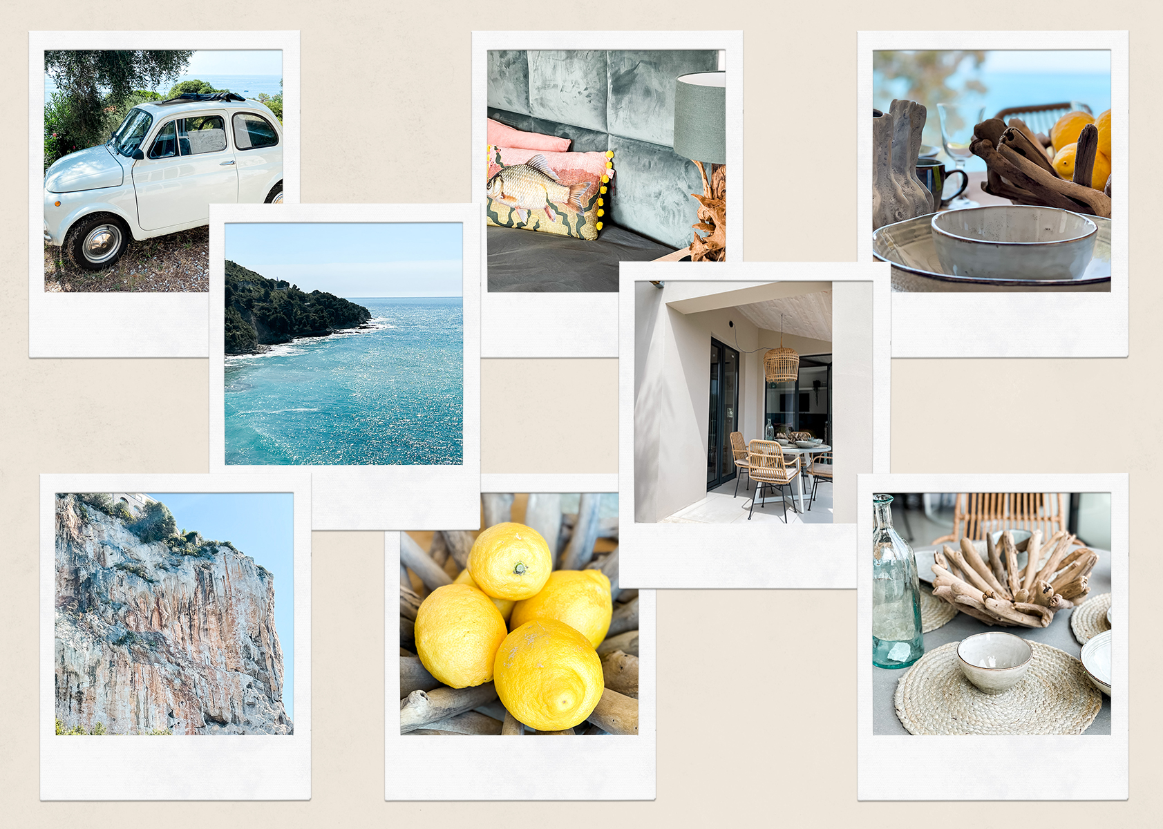 Balzi rossi holiday resort italy
